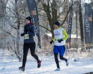 Czwarty bieg w Lublinie w pięknej zimowej aurze