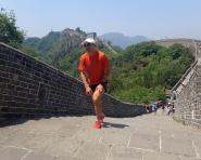 Marcin Świerc na The Great Wall Marathon