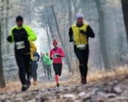 Mroźne bieganie w Katowicach
