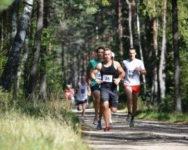 Leśne bieganie w Wielbarku