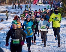 Prawdziwy, zimowy trail w Lublinie