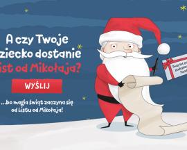Magia świąt zaczyna się… listem od Mikołaja!